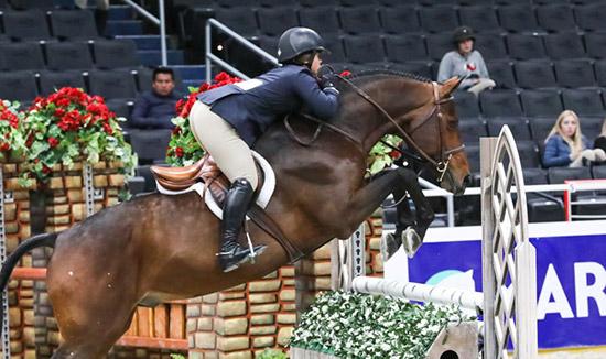 Stella Wasserman and Laura Wasserman's Boss 2019 Washington International Horse Show