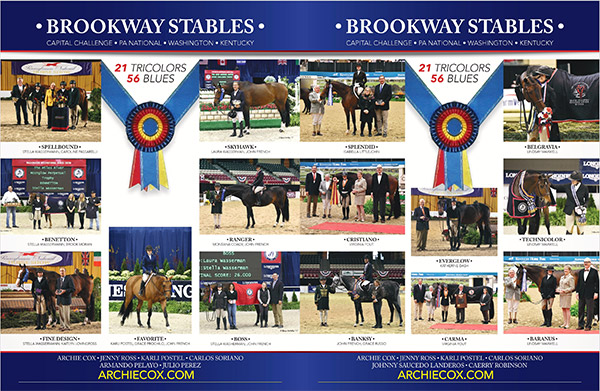 2017 Brookway Stables Wins and Champions Capital Challenge, PA National, WIHS & National Horse Show