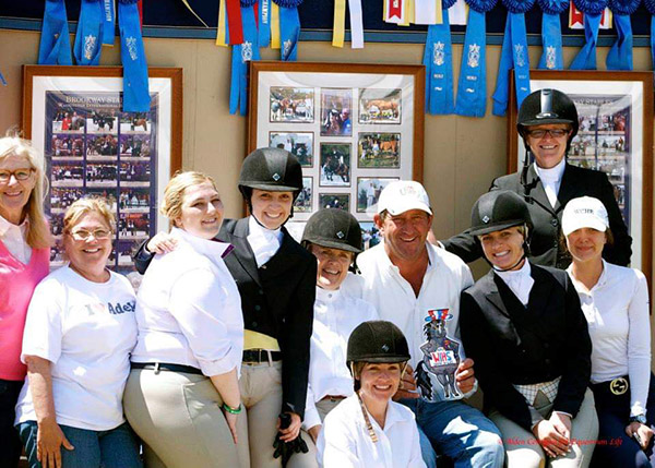 Brookway Stables Group Photo 2019 Candid Photo by Alden Corrigan Media for Equestrian Life