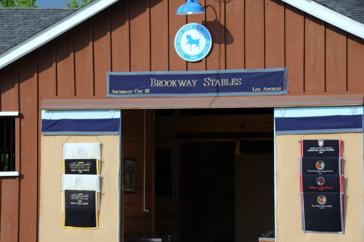 Brookway Stables Tackroom at Devon