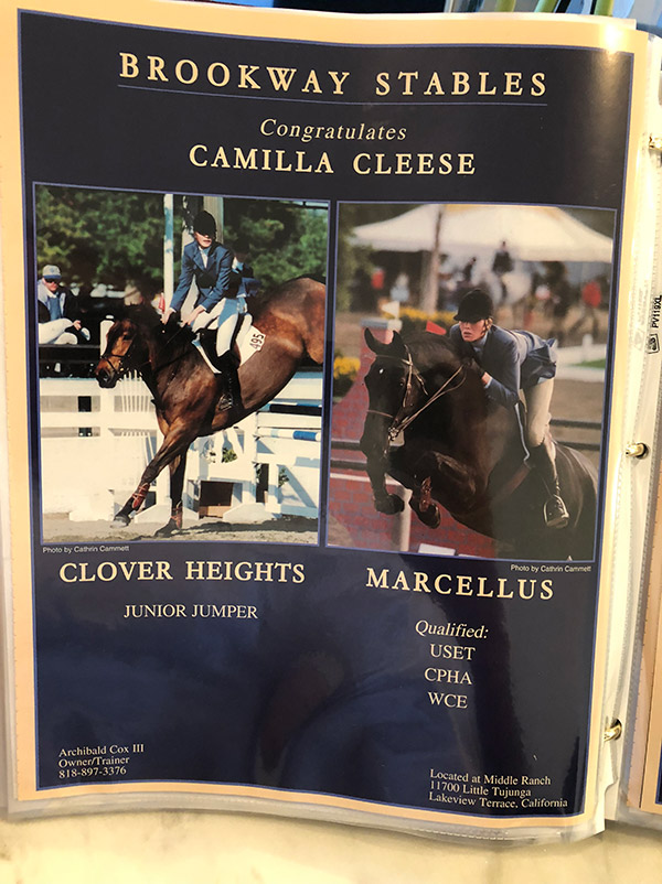 Camilla Cleese, Clover Heights and Marcellus
