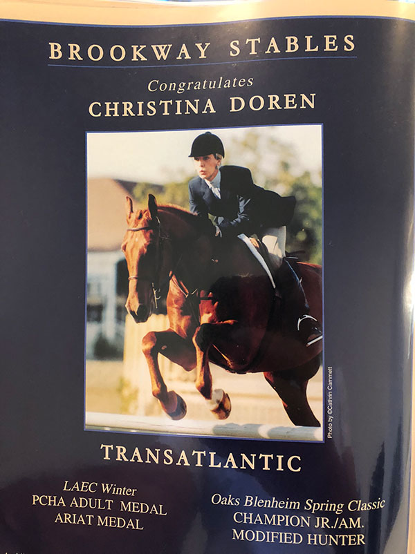 Christina Doren and Transatlantic
