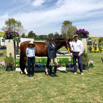 Jaime Krupnick and Conux 2019 Blenheim Oaks Spring Classic Champion A/O Hunter 36 & Over