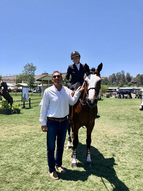 aime Krupnick and Conux 2019 Blenheim Oaks June Classic Champion Amateur Owner Hunter 36 & Over