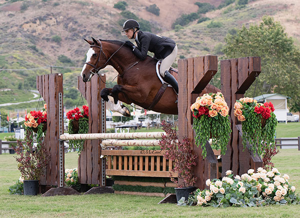 Jaime Krupnick and Conux 2019 Blenheim Oaks June Classic Champion Amateur Owner Hunter 36 & Over Photo by McCool