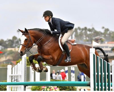 Jaime Krupnick and Conux 2019 Del Mar National Photo by Osteen