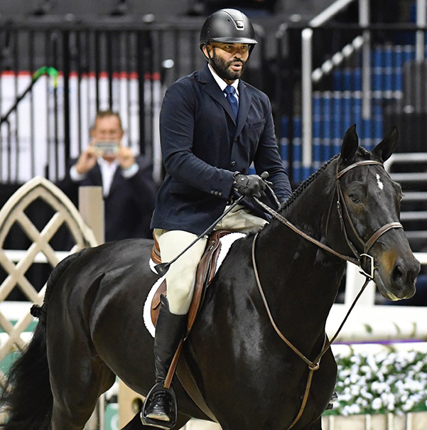 Jorge Hidalgo Duran and Charlie Boy 2018 Washington International