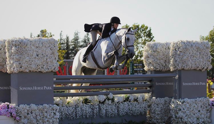 Karli Postel and Teton Farm's Get Rowdy 2019 Giant Steps Charity Classic High Performance Hunter 2019 USEF National Champion, High Performance Hunter