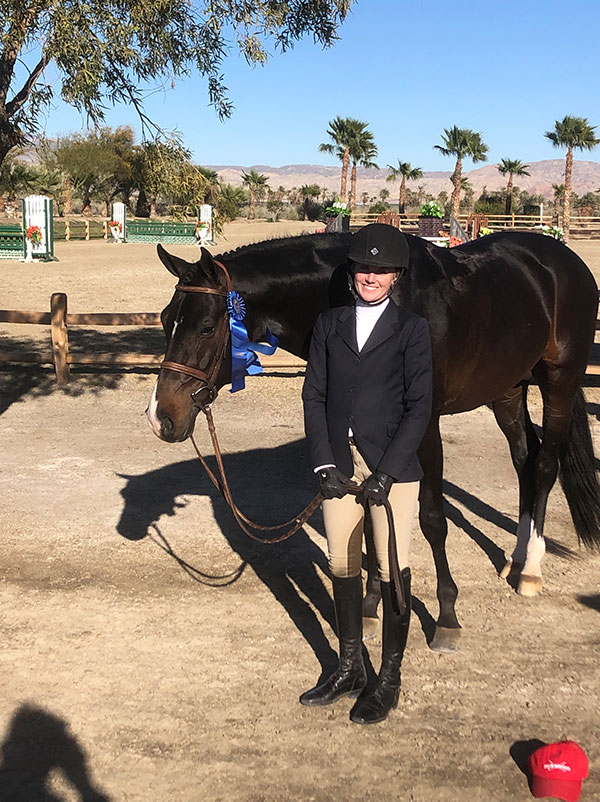 Meredith Mateo's Sebastian Regular Conformation Winner 2019 HITS Desert Circuit