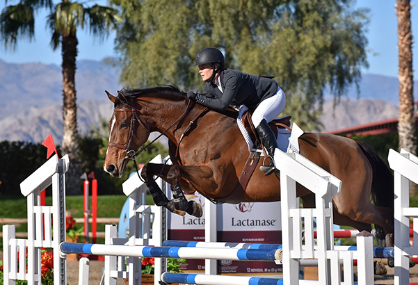 Allison Sweeney and Melody Adult Jumper 2020 Desert Circuit, Week 1