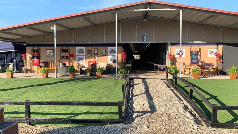 Brookway Stables Tackroom Setup 2020 Desert Circuit