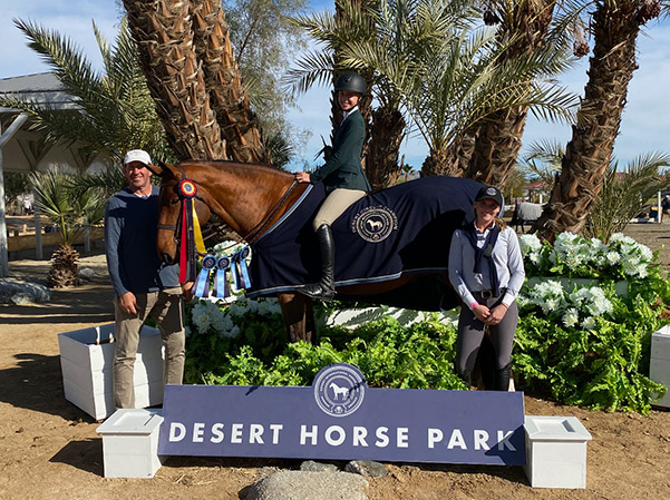 Gable Gering and Decklin Champion Equitation 12-13 2020 Desert Circuit, Week 1