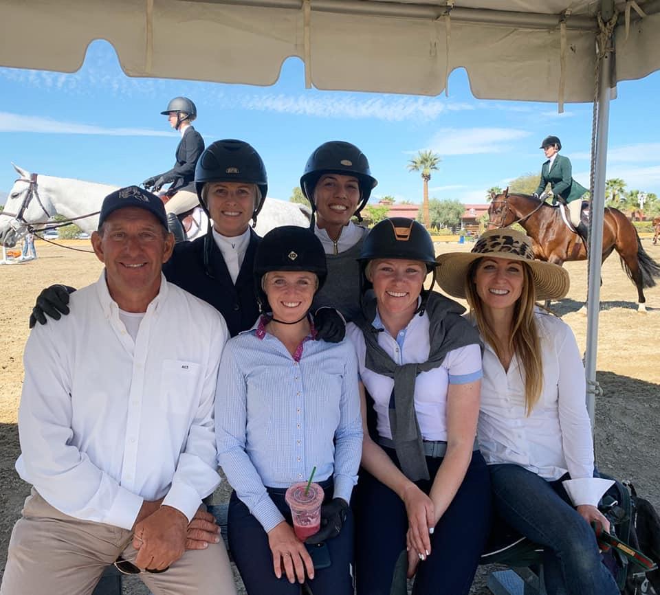 Archie Cox, Virginia Fout, Karli Postel, Caitlin Steimle, Katie Hauss and Shawna Dash 2020 Desert Circuit