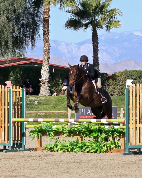 Grace Russo and Eclair HBC CPHA Style of Riding 2020 Desert Circuit