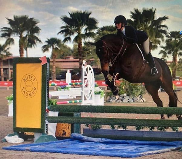 Naomi Wegner and First Class Equitation Stars 2020 Desert Circuit