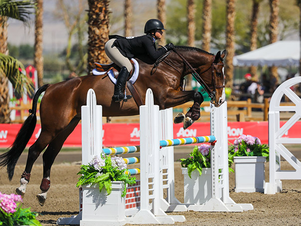 Stella Wasserman and Skyhawk Equitation 2020 Desert Circuit