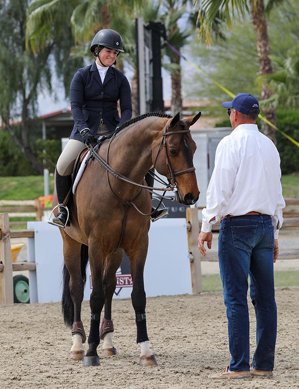 Stella Wasserman and Cohiba Equitation Superstars 2020 Desert Circuit