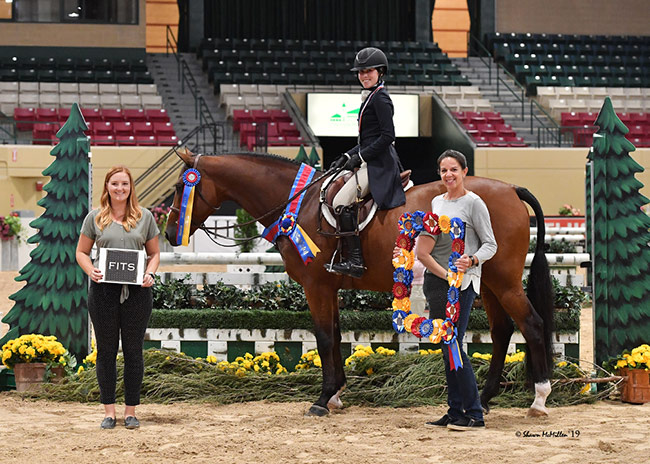 Ann Russo's San Marco and Juliet Joseph Junior Hunter Challenge Champion 2019 Capital Challenge Photo by Shawn McMillen