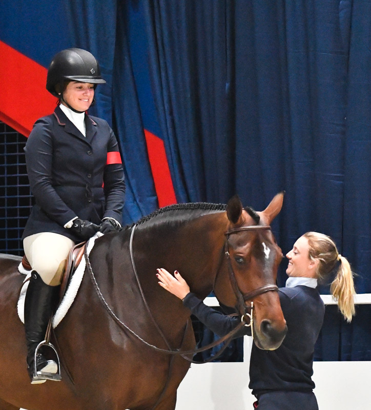 Stella Wasserman, Karli Postel and Boss 2018 WIHS