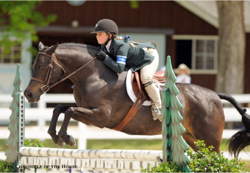 Stella Wasserman and Trillville 2016 Devon Horse Show Photo by Chronicle of the Horse