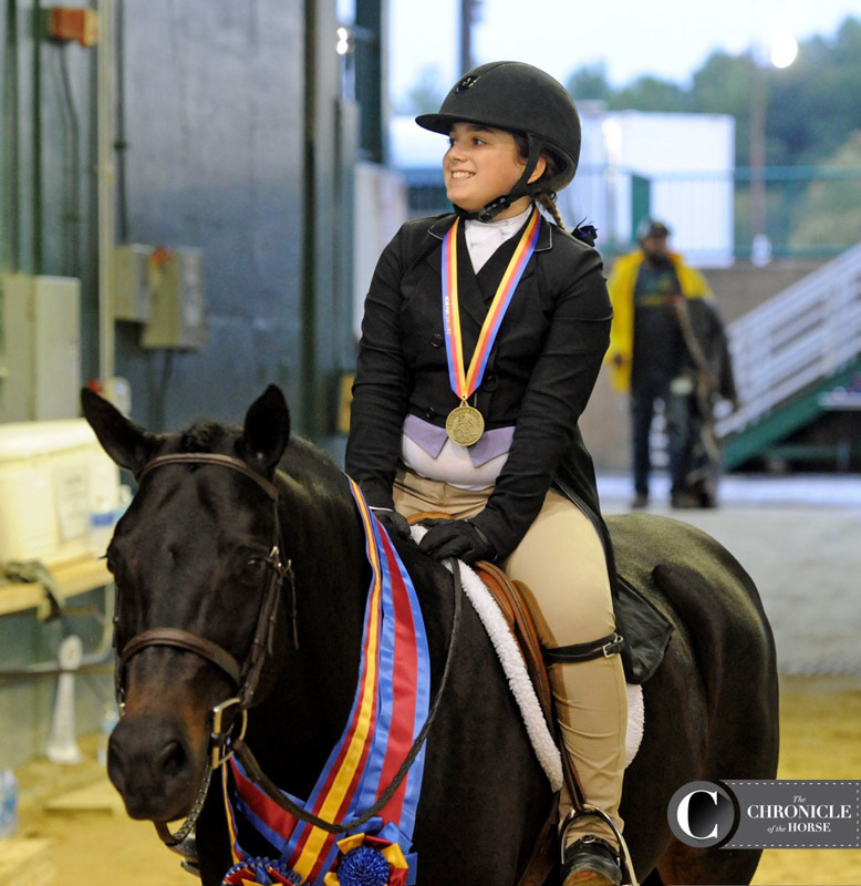 Stella Wasserman and Trillville Medium Pony Hunter 2016 Capital Challenge Photo by COTH