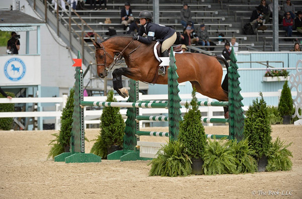 Stella Wasserman and Cohiba USET Medal Class 2019 Devon Horse Show Photo by The Book LLC