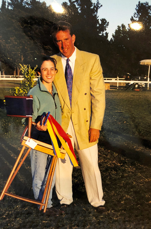 Archie Cox and Maryann Baribault 2001 Menlo