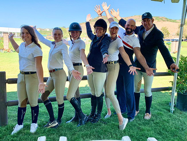 Brookway Stables Group Candid The Oaks 2019
