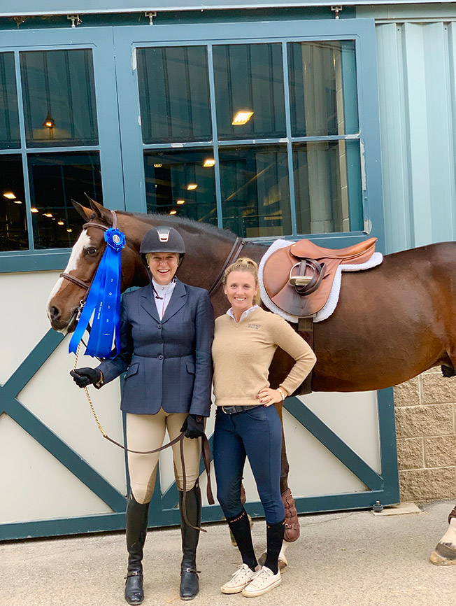 Jaime Krupnick and Karli Postel 2019 National Horse Show