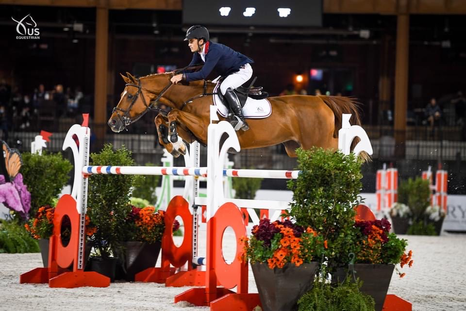 Trent McGee and Boucherom 2020 Zone 10 Bronze Medal Prix de States Tyron, North Carolina Photo by US Equestrian