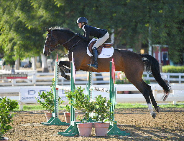 Gable Gering and Caramo Z 1.10m 2020 Del Mar Show Park Photo by Julia B.