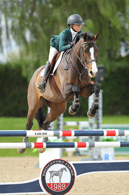 Gable Gering and Caramo Z 1.20m 2020 National Sunshine Series Photo by ESI