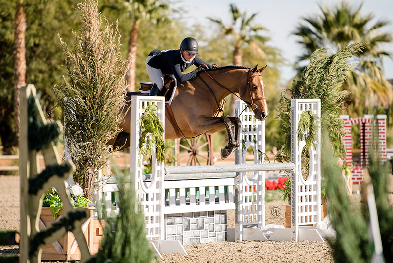 "Violet Tatum and Valedictorian Jr Hunters 3'6"" 15 & U 2020 Desert Holiday Photo by Sara Shier"