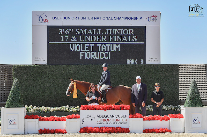 Violet Tatum and Fiorucci 3rd place overall