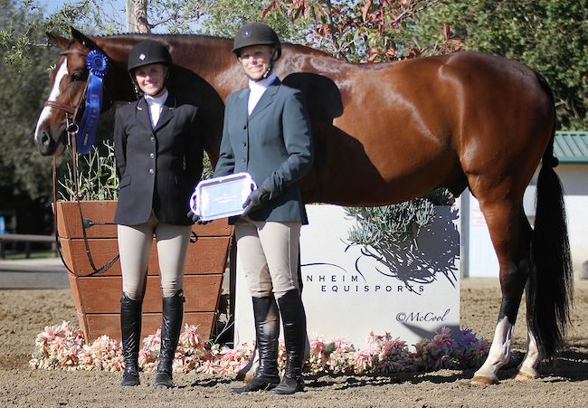 Karli Postel and Meant To Be, owned by Karin Binz